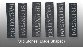 Slip-Stones-(Blade-Shaped)